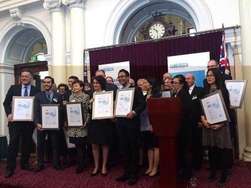 Harriyadi Irawan Pelajar Internasional Terbaik di Melbourne
