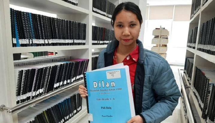 Menilik Koleksi Buku Buat Difabel di Perpustakaan Nasional