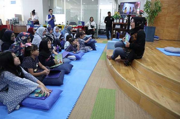 Perpustakaan Nasional Tingkatkan Literasi Masyarakat