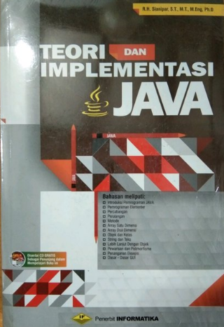 Teori dan implementasi java