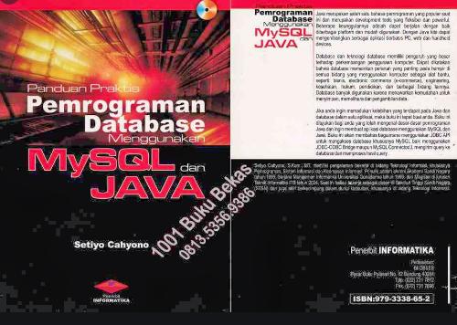 Panduan Praktis Pemrograman Database Menggunakan MySql dan Java
