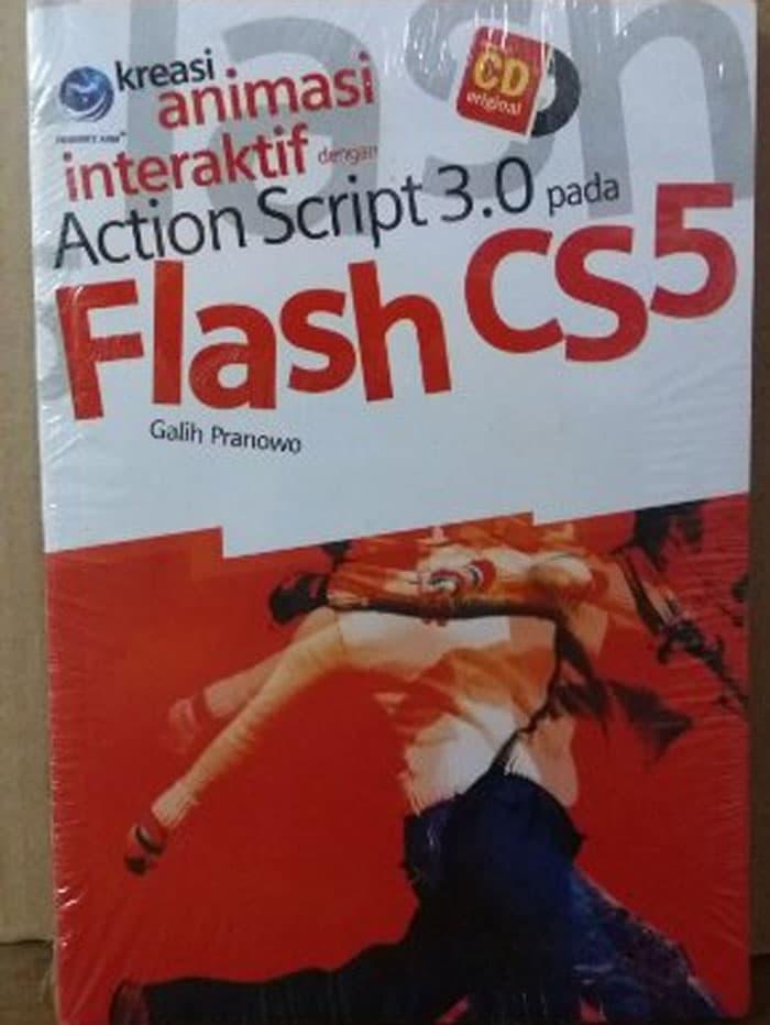 Kreasi animasi interaktif dengan action script 3.0 pada flash cs5