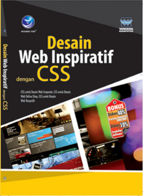 Desain web inspiratif dengan css