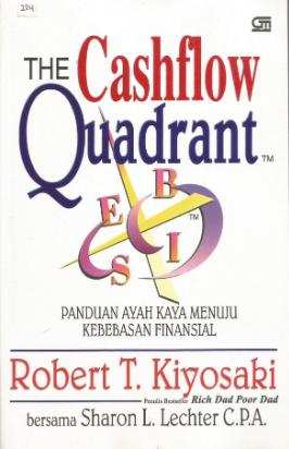 The cashflow quadrant : Panduan ayah kaya menuju kebebasan finansial